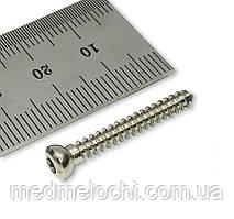 Гвинт кортикальний D=3,5мм, 28мм