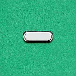 Пластик кнопки меню для Samsung N9005 Galaxy Note 3 белый с серебром