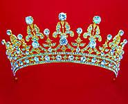 Просто шикарные диадемы - короны - тиары с кристаллами Сваровски и цирконами оптом в Украине!