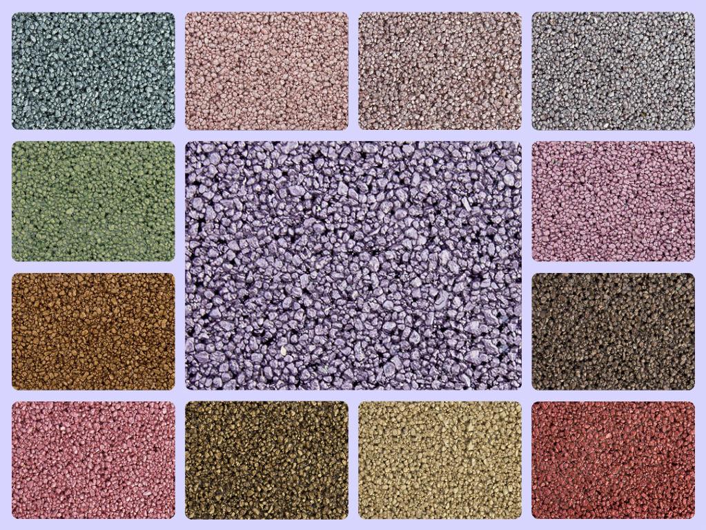 Штукатурка акриловая мозаичная (цвета G GN PG PGN) Anserglob 25 кг