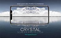 """Защитная пленка Nillkin Crystal для Apple iPhone X (5.8"""") / XS (5.8"""") (Анти-отпечатки)"""