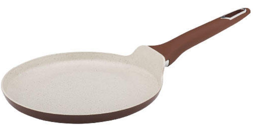 Сковорода для блинов 24 см покрытие керамика Granchio Macchiatoс 88146