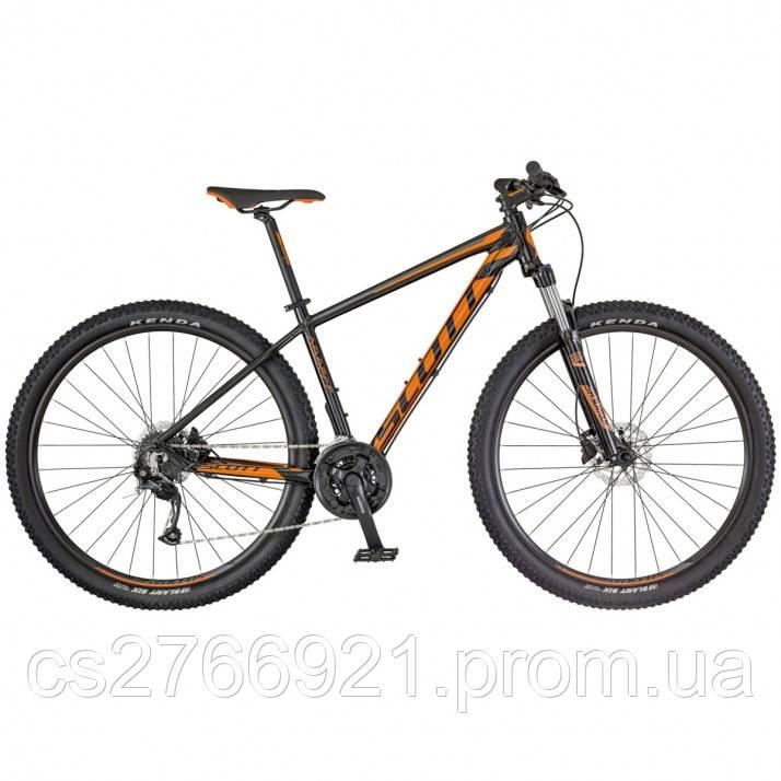 Горный велосипед ASPECT 750 чёрно/оранжевый 18 SCOTT