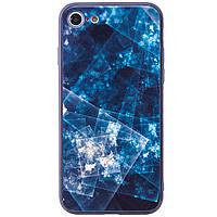 "TPU+Glass чехол YCT для Apple iPhone 7 / 8 (4.7""), фото 1"