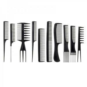 Набір гребінців для укладання волосся Tian Ho №k-96, 10 предметів