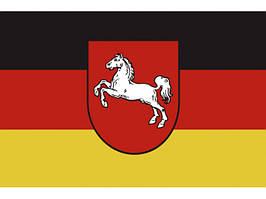 Флаг Нижней Саксонии