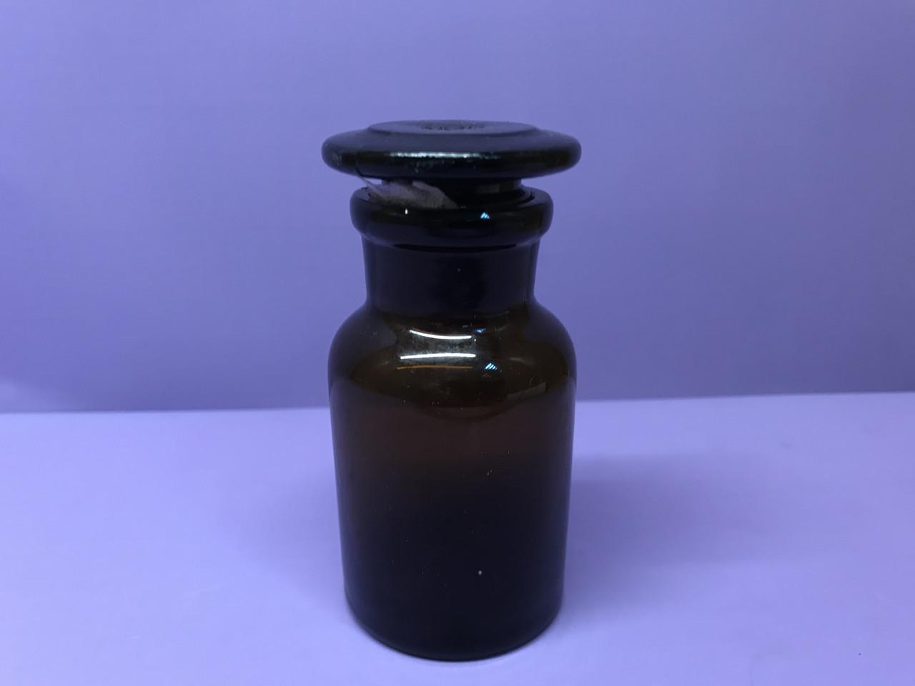 Бутыль для реактивов 60 мл.(темное стекло) шлиф