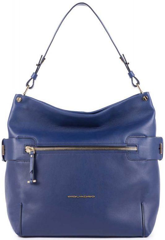Кожаная женская сумка Piquadro LOL BD4702S102_BLU, синий