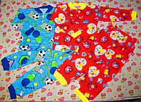 Пижама цветная 26-34р. на двух пуговицах кулир