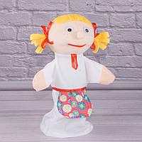 Игрушка рукавичка для кукольного театра Внучка, кукла перчатка на руку