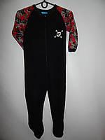 Комбинезон - пижама детская флисовая PRIMARK 5-6 лет, рост 110-116см  108ТП