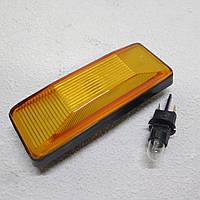 Повторитель поворотов ВАЗ 2101, 2103, 2106 Жигули, Нива 2121 оранжевый с лампой и патроном