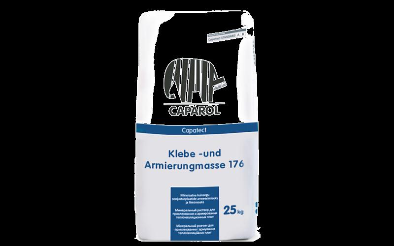 Klebe- und Armierungmasse 176 минеральный раствор для приклеивания и армирования теплоизоляционных плит.
