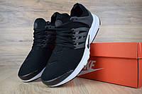 Женские кроссовки Nike Air Presto летние из текстиля удобные практичные найки для зала черные, ТОП-реплика, фото 1