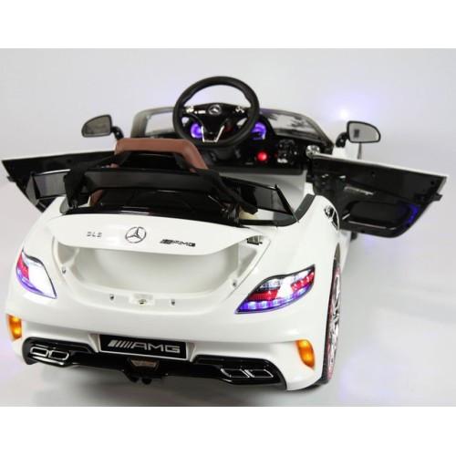 Детский лицензионный электромобиль Mercedes-Benz SLS SX812 PAINTING модель 2016г (белый).