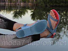 Босоножки женские розовые, голубые Rider оригинал 41р, фото 2