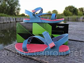 Босоножки женские розовые, голубые Rider оригинал 41р, фото 3