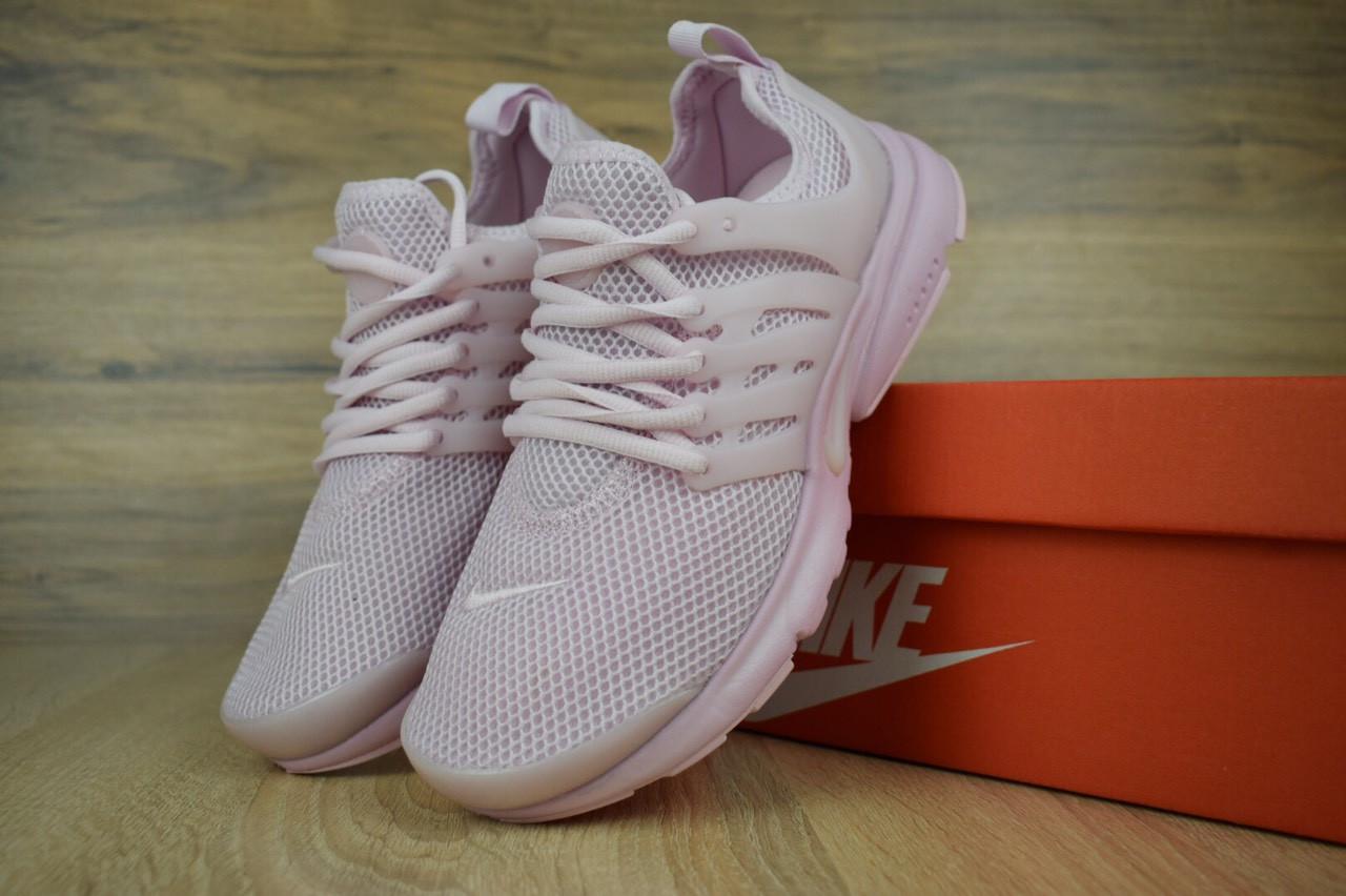 Кроссовки женские Nike Air Presto из текстиля яркие практичные найки для тренировок (фиолетовые), ТОП-реплика