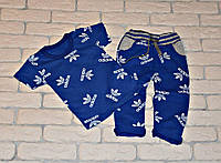 Костюм (футболка+штаны) Yuvdi-tex 245577 80-86см синий