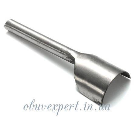 Инструмент  для торцевания края ремня (высечка-вырубка) U- формы 10 мм, фото 2