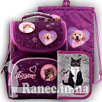 Ранец школьный каркасный Kite Education 501 R R19-501S ранец  рюкзак школьный hfytw ranec котики