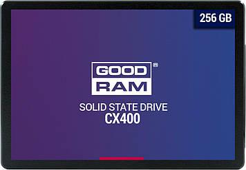 """SSD Goodram CX400 256GB 2.5"""" SATAIII 3D TLC (SSDPR-CX400-256)"""