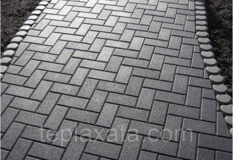 Тротуарная плитка ГОСТ Брусчатка 210х100х40 мм - Харьков