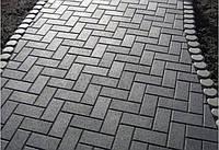 Тротуарна плитка ГОСТ Бруківка 210х100х40 мм - Харків, фото 1