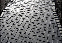 Тротуарная плитка ГОСТ Брусчатка 210х100х40 мм - Харьков, фото 1