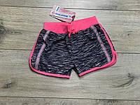 Трикотажные шорты для девочек. 4- 6 лет