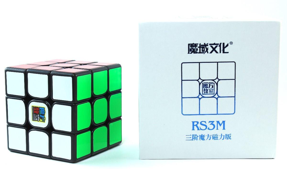 Кубик Рубика 3x3 MoYu MF3 RS3M magnetic (чёрный)