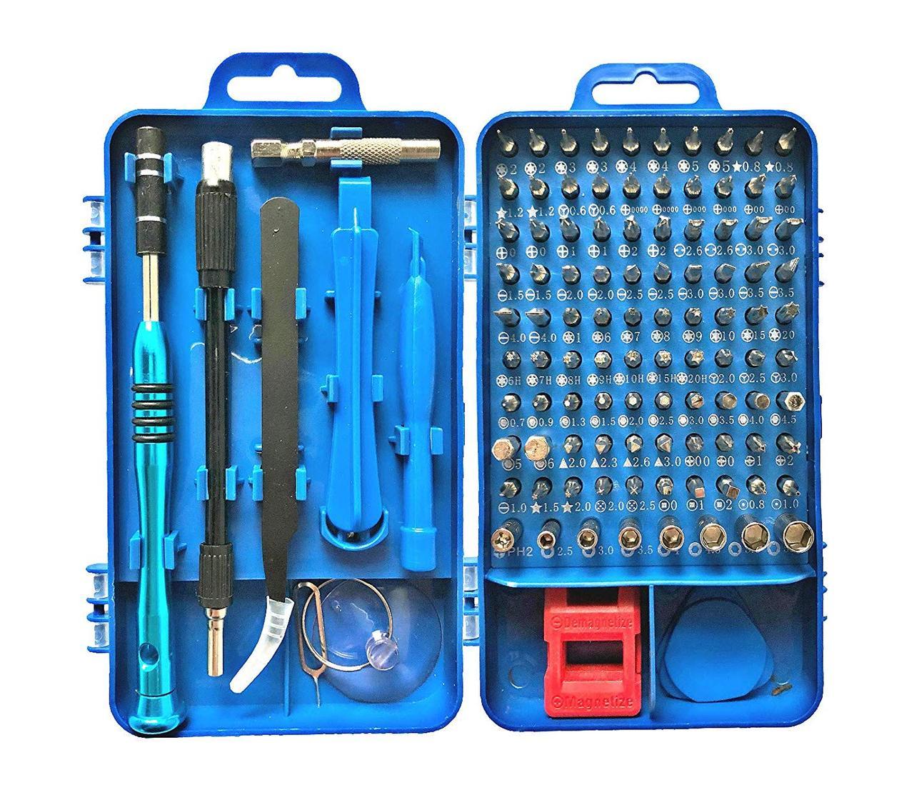 Набор инструментов 108 в 1 для ремонта портативной техники профессиональный