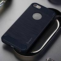 TPU чехол iPaky Slim Series для Apple iPhone 5/5S/SE (Синий)