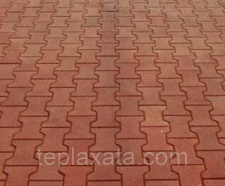 Тротуарная плитка ГОСТ Катушка цветная 200х160х60 мм - Харьков