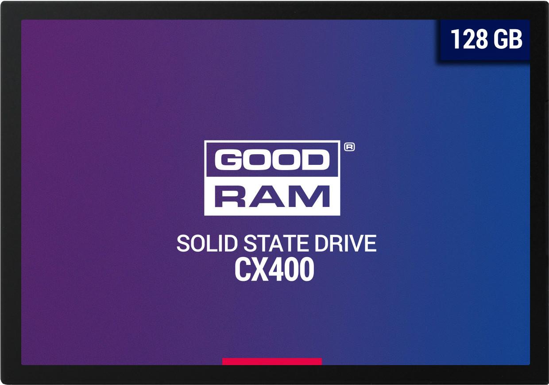 """SSD Goodram CX400 128GB 2.5"""" SATAIII 3D TLC (SSDPR-CX400-128)"""
