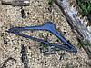 Мужские пластиковые плечики вешалки 45см с перекладиной и крючками для одежды
