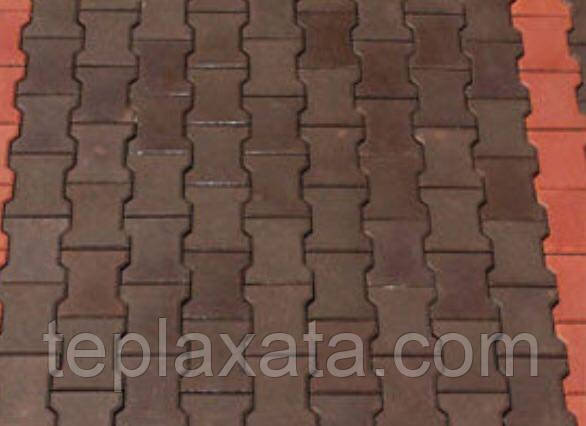Тротуарна плитка ГОСТ Котушка кольорова 200х160х80 мм - Харків