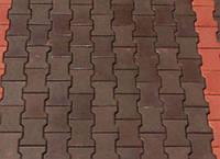 Тротуарная плитка ГОСТ Катушка цветная 200х160х80 мм - Харьков, фото 1