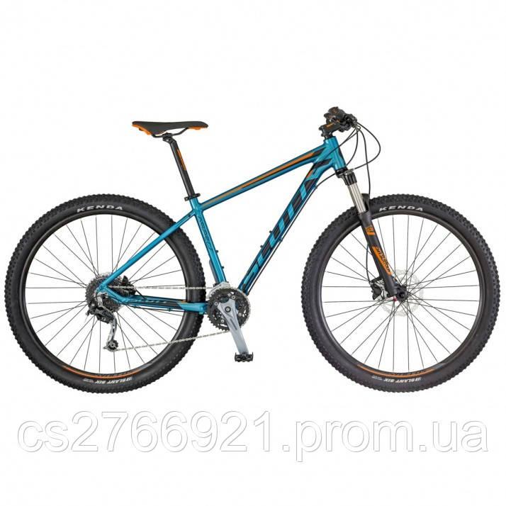 Горный велосипед ASPECT 730 сине/оранжевый 18 SCOTT KH