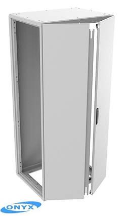 Шкаф ONYX ШН221006/1ДC/1СЗ IP54 (2200х1000х650мм), фото 2