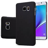 Чехол Nillkin Matte для Samsung Galaxy Note 5 (Черный)