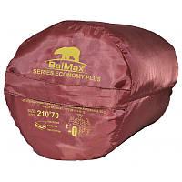 """⭐ Спальный мешок (0 °C) """"Balmax (Аляска) Econom series"""" одеяло с подголовником. Размер : 210 х 70 см."""