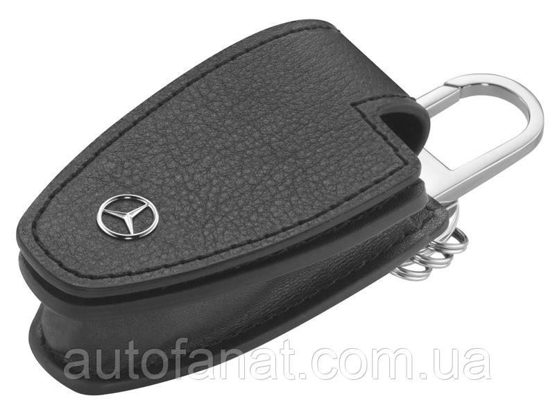 Оригинальный кожаный футляр для ключей Mercedes-Benz Key Wallet Gen.5, Black (B66958404)