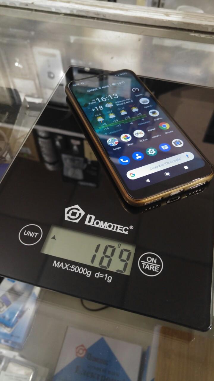 Весы кухонные электронные до 5кг Domotec MS-912 Black