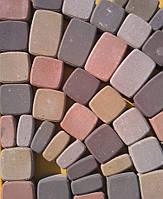 Тротуарная плитка ГОСТ Старый город цветная 40 мм (4 части) - Харьков, фото 1