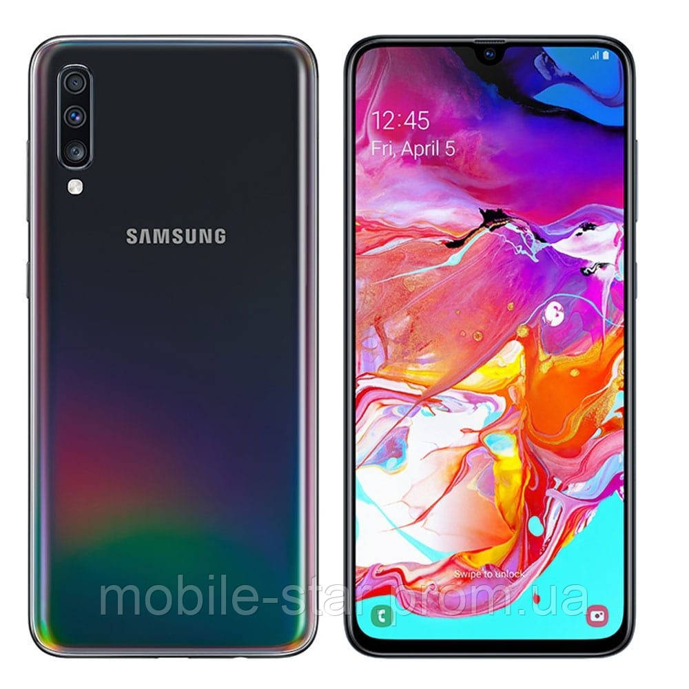Samsung Galaxy A70 (SM-A705FZKUSEK) 2019 6/128GB black