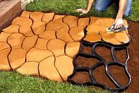 """Пластикова форма для виготовлення тротуарної доріжки - """"Садова доріжка 60*50 см"""", фото 1"""
