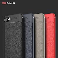 Надійний чехол для телефону Xiaomi Redmi 6A под кожу захист на сяоми ксиоми редми 6А