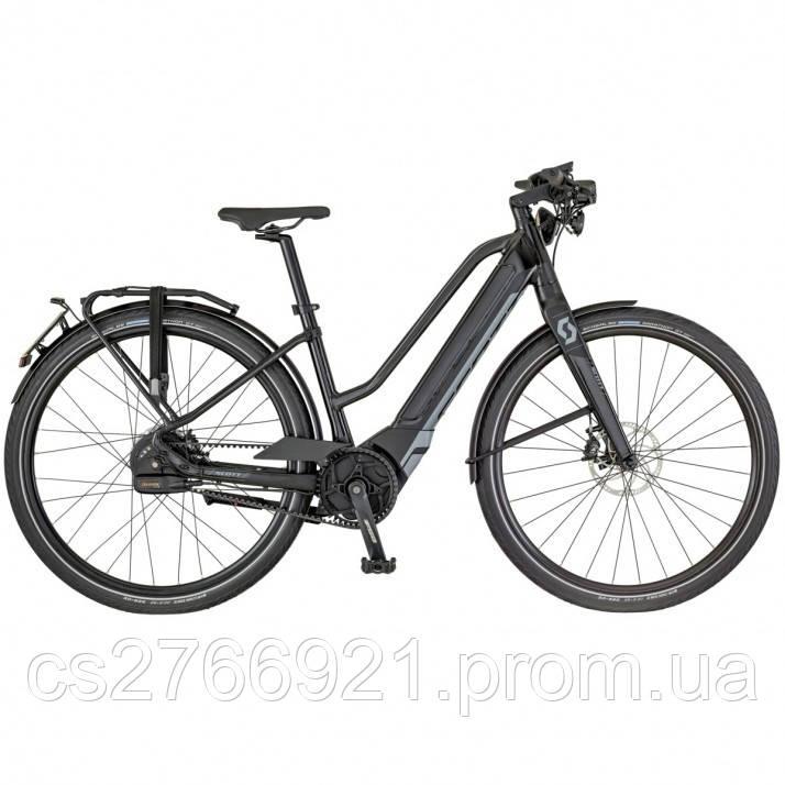 Женский электро велосипед E-SILENCE SPEED 10 LADY 18 SCOTT