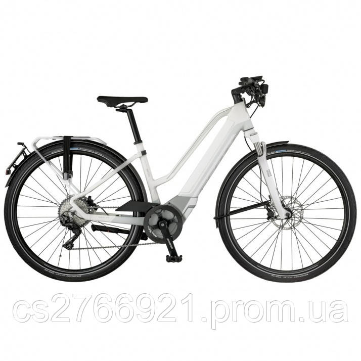Женский электро велосипед E-SILENCE SPEED 20 LADY 18 SCOTT